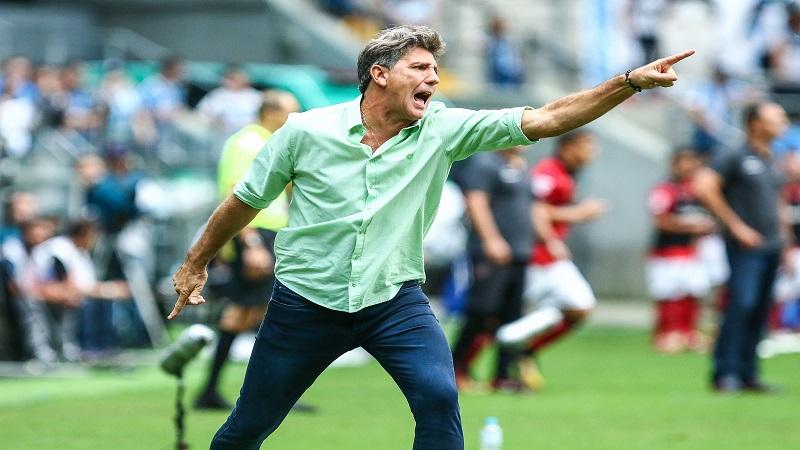 Grêmio: Renato faz promessa para depois da Copa