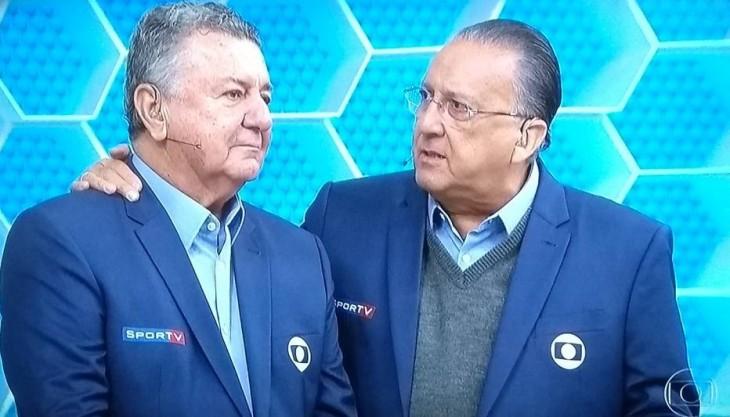 Tem Na Web - Galvão Bueno faz revelação surpreendente na despedida de Arnaldo Cezar Coelho