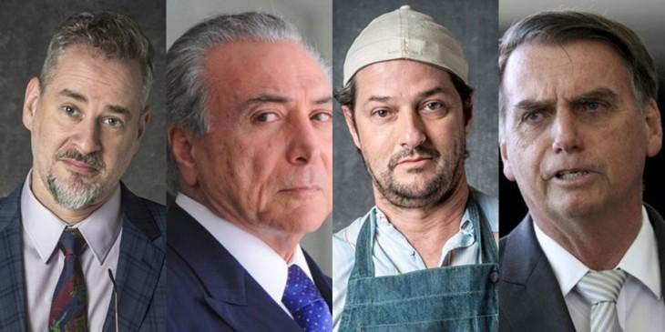 Tem Na Web - Público nota referências de Temer e Bolsonaro na novela O Sétimo Guardião