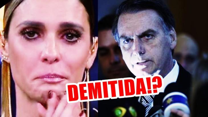 Tem Na Web - Fernanda Lima prova do próprio veneno e seu futuro na Globo é obscuro