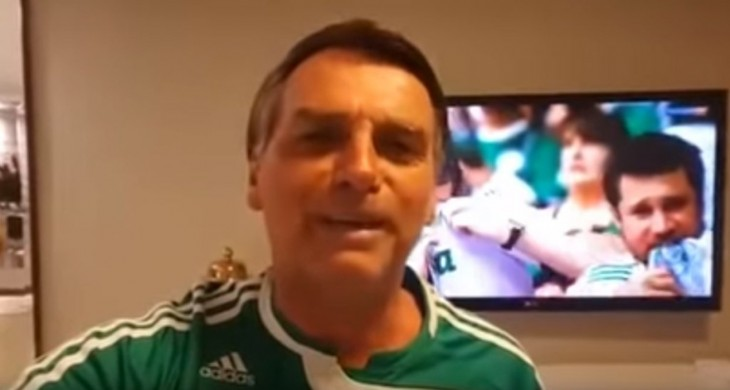 Tem Na Web - Palmeiras surpreende e faz convite especial ao presidente eleito, Jair Bolsonaro