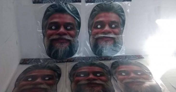 Tem Na Web - Máscara de Fábio Assunção está bombando e promete ser a sensação do carnaval; veja o preço