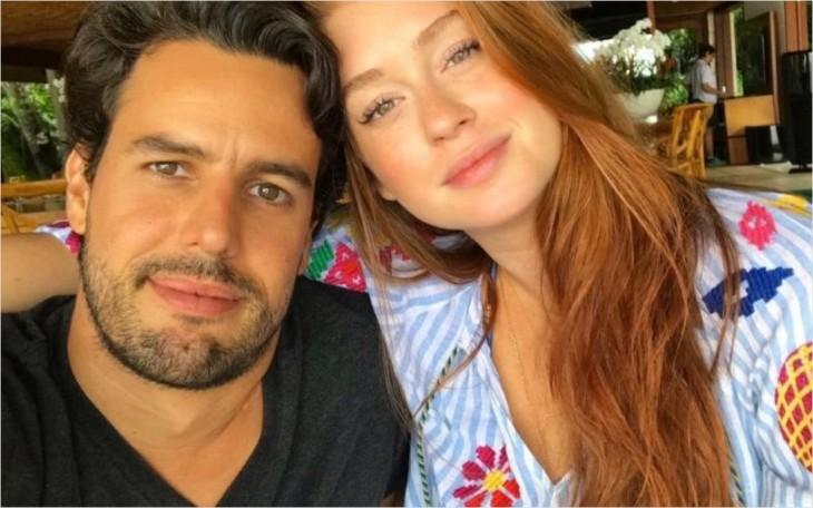 Resultado de imagem para Marina Ruy Barbosa recebe declaração do marido após polêmica com José Loreto