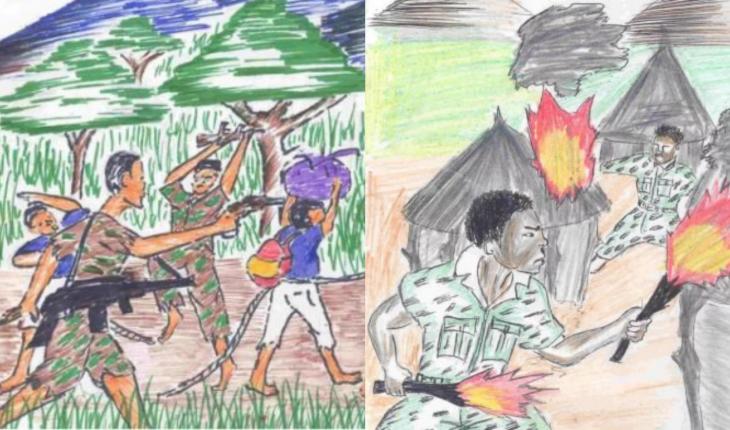 Triste Realidade 7 Desenhos Mostram Como Criancas Traumatizadas