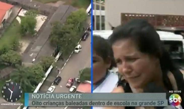 Tragédia Em Suzano: Repórter é Duramente Criticada Após