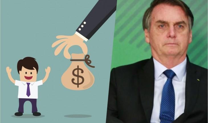 Resultado de imagem para bolsonaro e salário mínimo